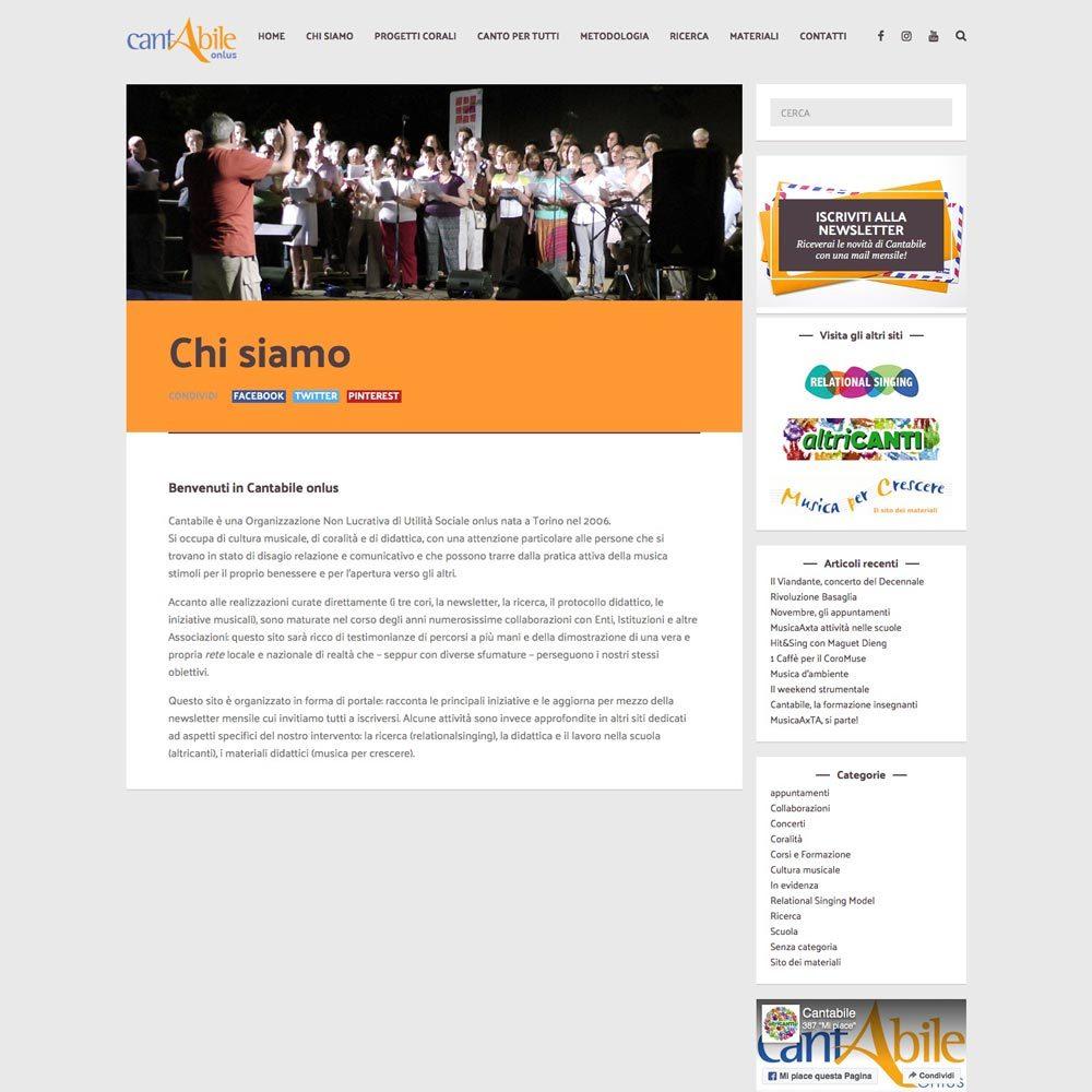 Cantabile Web-design-zen Studio Siti Web Torino