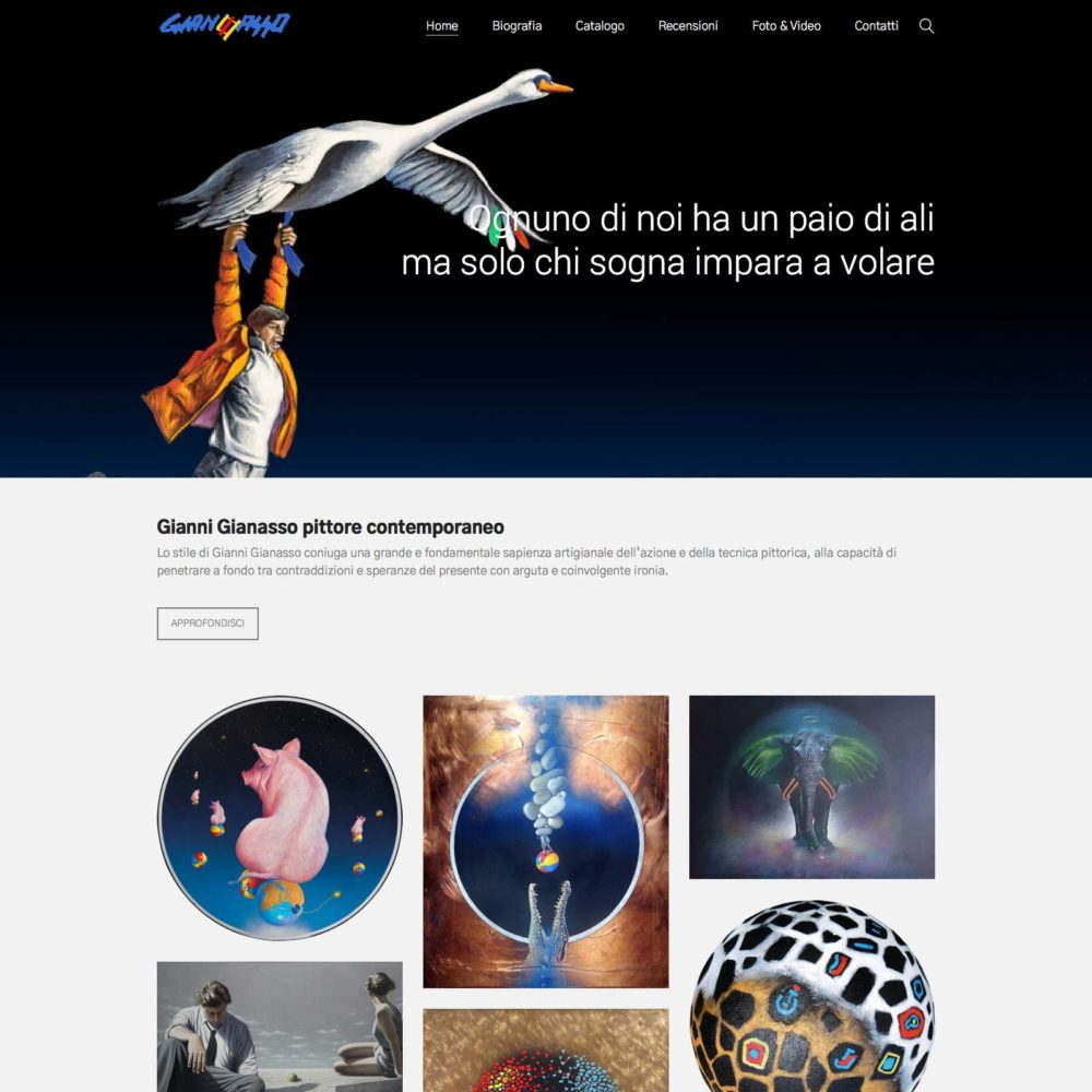 Homepage-gianni-gianasso