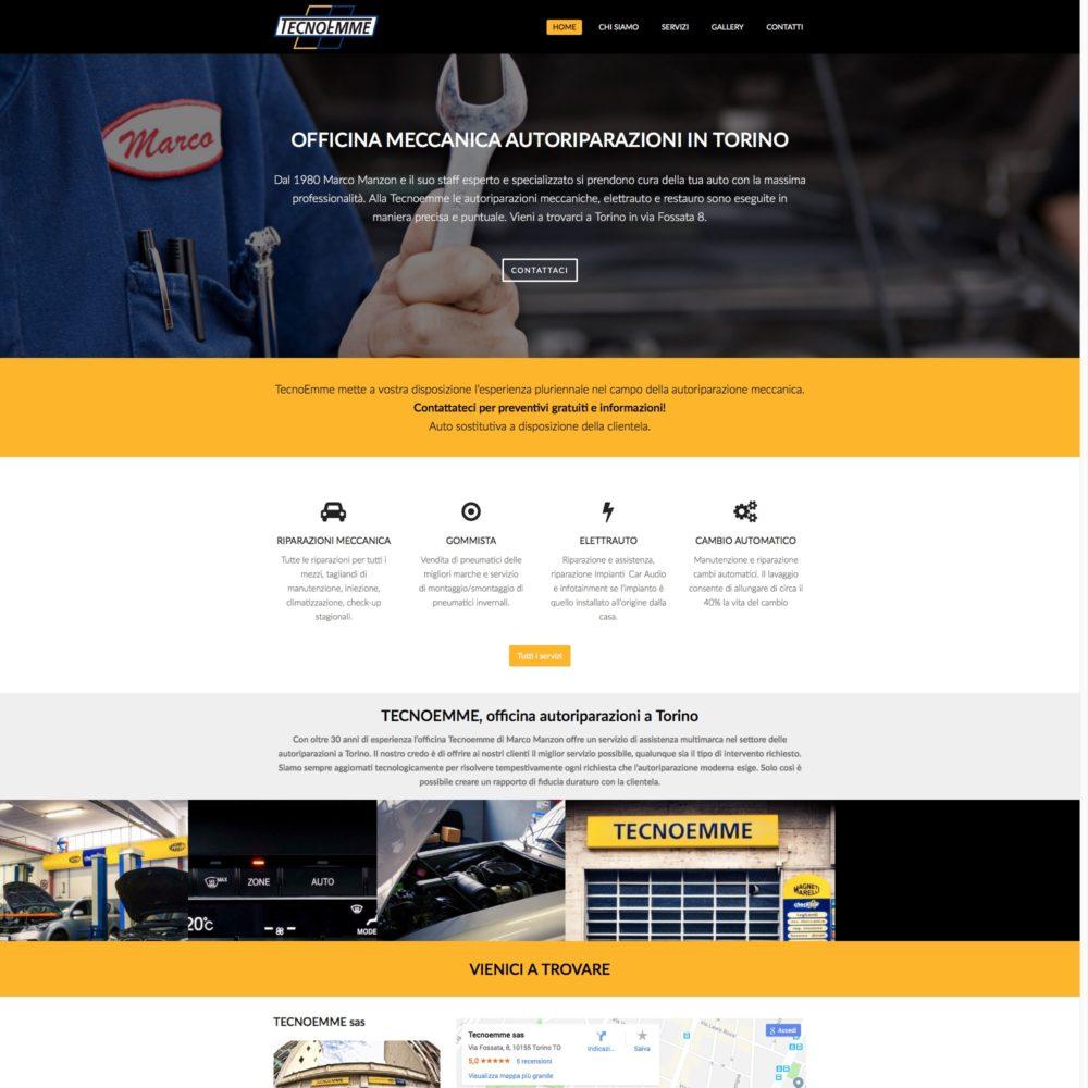 Sito Tecnoemme Web-design-zen Studio Siti Web Torino